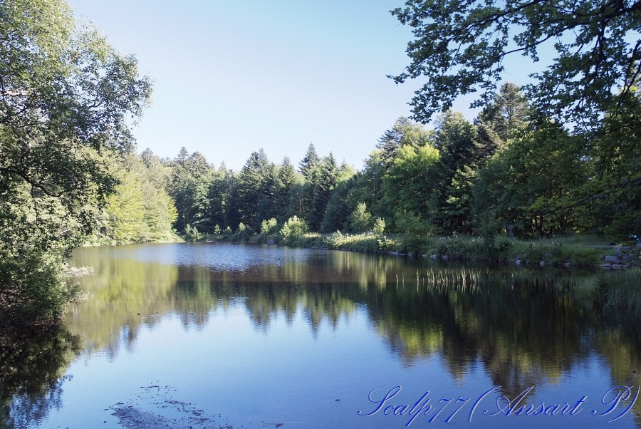 lac du petit haut été 2009