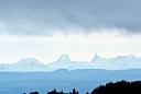 les Alpes vues des Vosges
