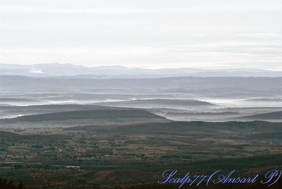 Belfort sous la brume