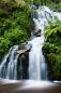 pose longue dans les Vosges Cascade de Faymont